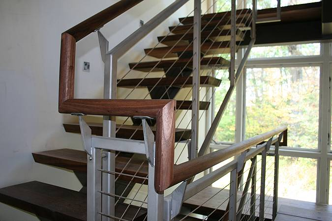 Staircase Tower Support : Stair tower john gehri zerrer builder